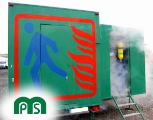 Prácticas en Laberinto de humo MPS Seguridad