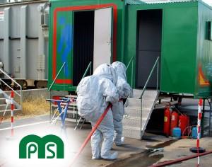 Prácticas Riesgo Químico NBQ Unidad Móvil MPS Formación en Seguridad