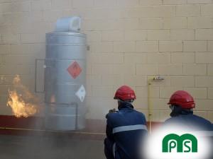 Prevención de incendios MPS- Prácticas Fuga de Gas