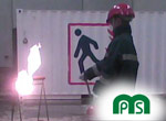 MPS Formación Barcelona Prácticas con Extintores de polvo